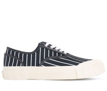 HURLER 2 STRIPED CANVAS SNEAKERS
