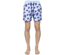 BADESHORTS MIT DRUCK 'MOOREA SEA TURTLES'