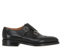 MONKSTRAP-SCHUHE AUS LEDER 'WILLIAM'