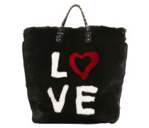 TOTE AUS KANINCHENFELL 'BEATRICE D&G 4 EVER'