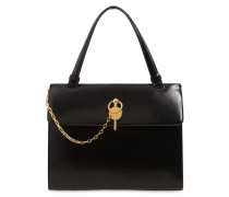 LADY KEYTS BRUSHED LEATHER SHOULDER BAG
