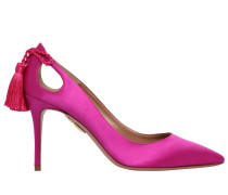 85MM HOHE SATINPUMPS 'FOREVER MARYLYN'