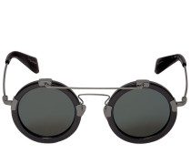 ROUND FRAME & WIRE SUNGLASSES