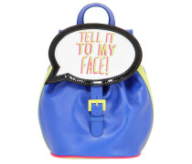 RUCKSACK AUS LEDER 'TELL IT TO MY FACE!'