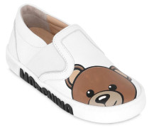 SLIP-ON-SNEAKERS AUS LEDER 'TEDDY BEAR'