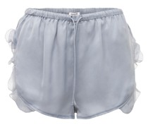 "SHORTS AUS SATIN ""LOTTY"""