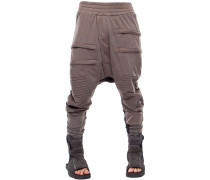 TRUNK EARTH BAGGY COTTON SWEATPANTS