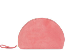 MINI CLUTCH AUS WILDLEDER 'MOON'