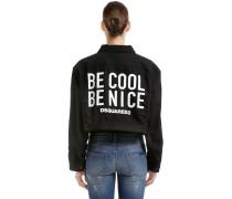 DENIMJACKE 'BE COOL BE NICE'