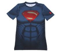 T-SHIRT AUS HEATGEAR-STOFF 'SUPERMAN'