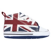 HOHE SNEAKERS AUS CANVAS 'ALL STAR UNION JACK'