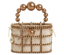 HOLLI CRYSTAL & PEARL BOX BAG