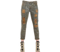 ENGE JEANS AUS BAUMWOLLDENIM IM RELAXED FIT