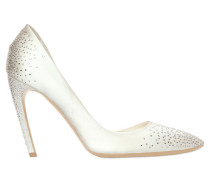 100MM D'ORSAY-PUMPS MIT SWAROVKIS 'SEXY SHOCK'