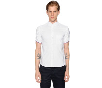 COTTON OXFORD SHORT SLEEVE SHIRT