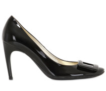 85MM HOHE 'BELLE DE NUIT' PUMPS AUS LACKLEDER