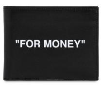 BRIEFTASCHE AUS LEDER ##FOR MONEY##