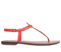 10MM GIGI LEATHER SANDAL FLATS