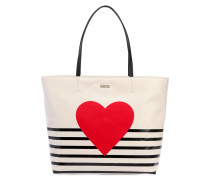 TOTE AUS CANVAS 'HALLIE'