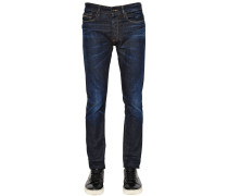 16CM ENGE JEANS AUS STRETCH-DENIM