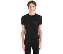 T-SHIRT AUS STRETCH-BAUMWOLLJERSEY 'ESSENTIAL'