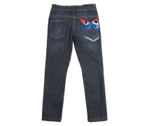 JEANS AUS STRETCH-DENIM 'MONSTER'