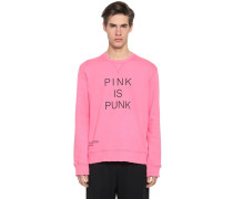 BAUMWOLLSWEATSHIRT 'PINK IS PUNK'