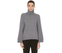 PULLOVER AUS WOLL/ANGORASTRICK