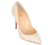 100MM PUMPS AUS LEDER 'FOLLIES SPIKES'