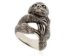 RING AUS STERLINGSILBER 'SLOTH'