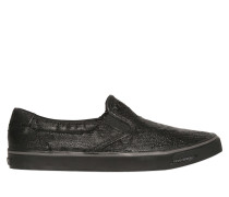 SLIP-ON-SNEAKERS AUS BESCHICHTETEM DENIM
