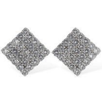VICTORIA CRYSTAL CLIP-ON EARRINGS