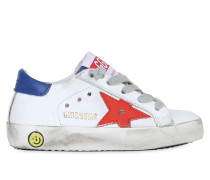 SNEAKERS AUS LEDER 'SUPER STAR'
