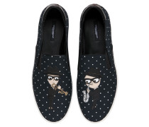 SLIP-ON-SNEAKERS AUS CANVAS 'DESIGNERS'