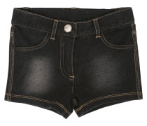 SHORTS AUS STRETCH-BAUMWOLLFLEECE