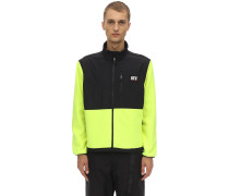 GUARD LOGO COLOR BLOCK ZIP JACKET
