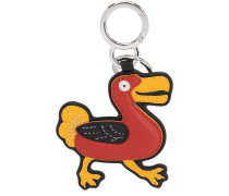BIRD CHAIN LEATHER KEY CHAIN