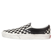 SLIP-ON-SNEAKERS AUS VERWASCHENEM CANVAS