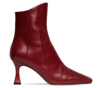 80MM XX DUCK LEATHER ANKLE BOOTS