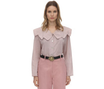 EVITA COTTON VOILE BLOUSE