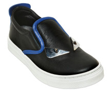 SLIP-ON-SNEAKERS AUS NAPPALEDER 'MONSTER'