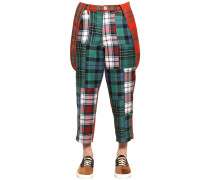 HOSE AUS WOLLPATCHWORK 'BOY'