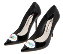 100MM HOHE PUMPS AUS LACKLEDER 'BOSS LADY'