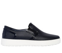 SLIP-ON-SNEAKERS AUS PERFORIERTEM GUMMI