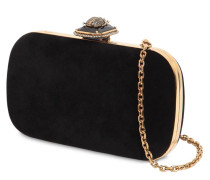 CLUTCH AUS SAMT 'BEETLE ON STONE'