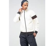 Trainingsjacke Weiß