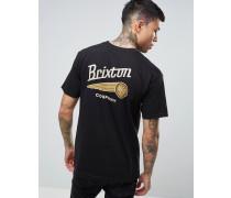 Maverick T-Shirt mit Rückenprint Schwarz