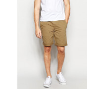 By Hugo Boss Hellbraune Chino-Shorts Bronze