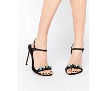 HYDROGEN Sandalen mit hohem Absatz und weiter Passform Schwarz
