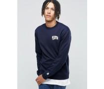 Arch Sweatshirt mit Logo Marineblau